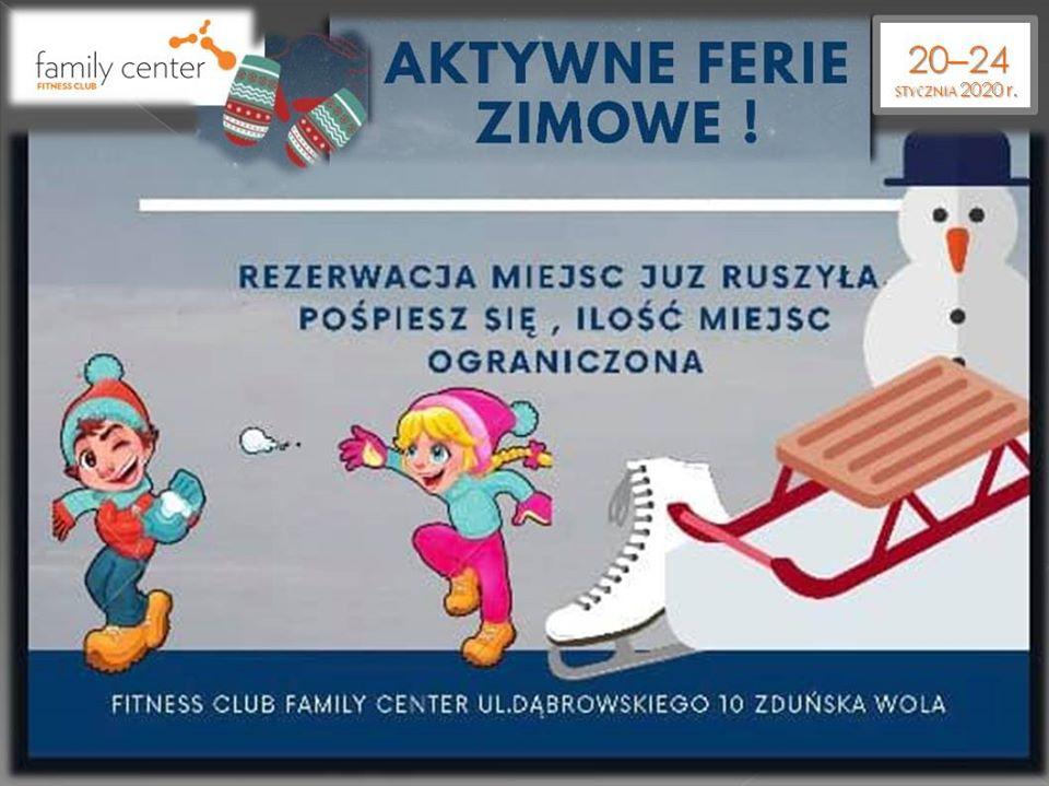 Aktywne Ferie Zimowe
